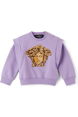VERSACE Baby Purple Medusa Sweatshirt