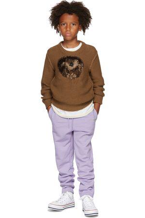 DOUBLET SSENSE Exclusive Kids Brown Jacquard Sweater