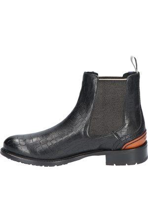 Floris van Bommel Dames Enkellaarzen - 85643 04 Black G+ Wijdte Chelsea boots