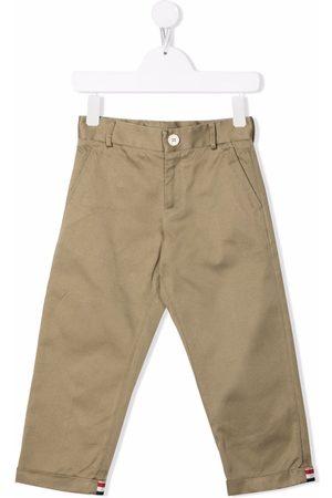 Thom Browne RWB trim Chino trousers