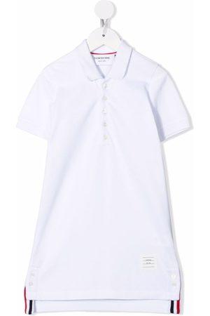 Thom Browne Short-sleeve polo dress