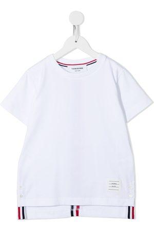 Thom Browne Center back stripe short-sleeve T-shirt
