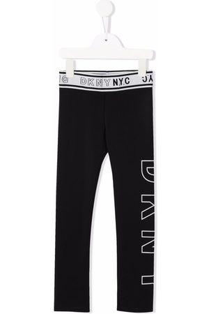 Dkny Kids Logo-waistband leggings