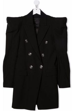 Balmain TEEN double-breasted blazer dress
