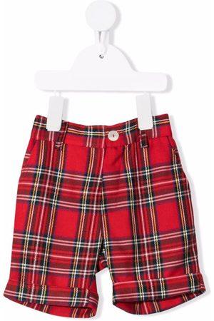 Mariella Ferrari Check-print knee-length shorts