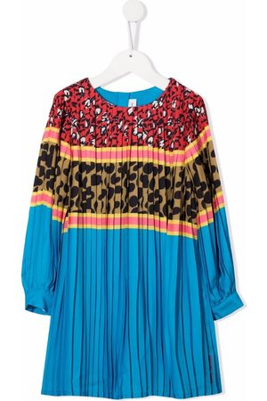 The Marc Jacobs Multi-print panelled pleated dress