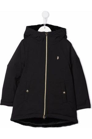 HERNO Zipped padded parka coat