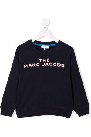 The Marc Jacobs Logo-print cotton sweatshirt