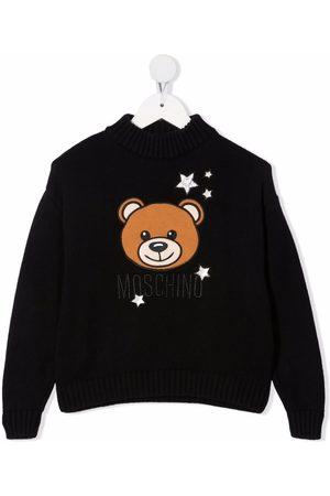 Moschino Kids Teddy Bear motif sweater