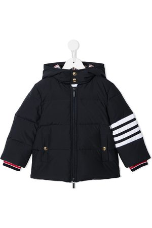 Thom Browne Ripstop down-filled hooded 4-Bar parka