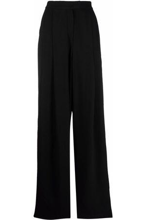 Emporio Armani Dames Wijde broeken - Pleated-waist trousers