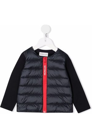 Moncler Padded-front zip-up jacket