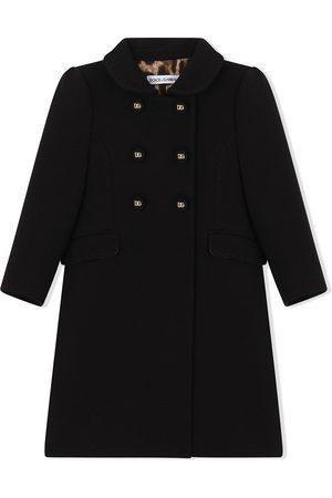 Dolce & Gabbana Double-breasted virgin wool coat