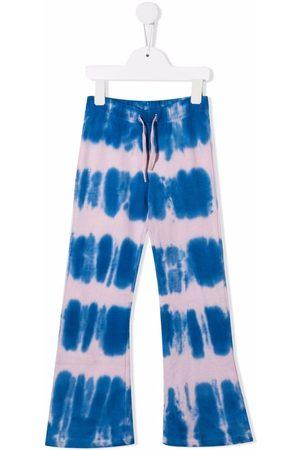 Molo Tie-dye flared track trousers