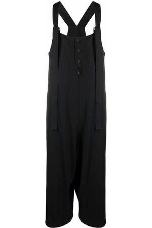 Yohji Yamamoto Buttoned wide-leg jumpsuit
