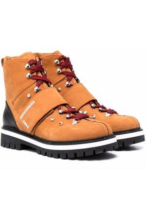 Dsquared2 Kids TEEN Morbidone mountain boots