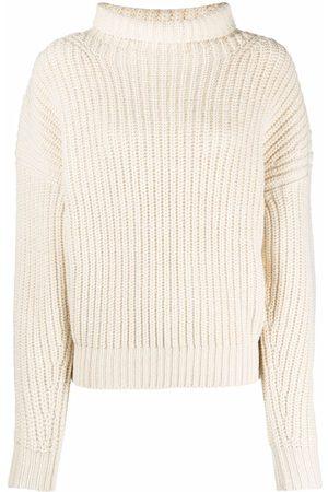Isabel Marant Funnel-neck ribbed-knit jumper