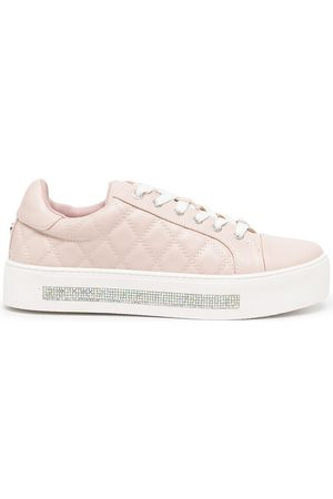 Carvela Jeo quilted trainers