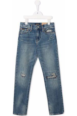 Ralph Lauren Kids Slim-cut denim jeans