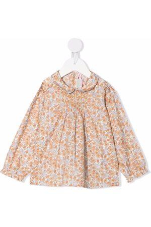 Bonpoint Julietti smocked blouse