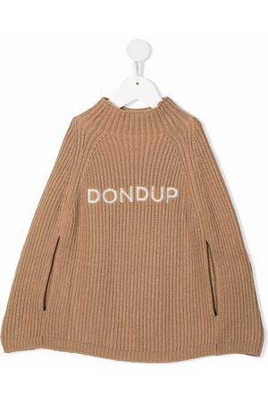 Dondup Logo-embroidered ribbed jumper