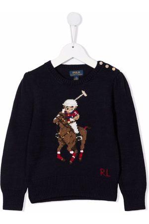 Ralph Lauren Polo Pony intarsia jumper