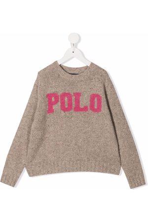 Ralph Lauren Polo print jumper