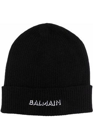 Balmain Logo-print beanie
