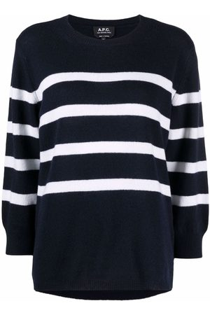 A.P.C. Striped knitted jumper