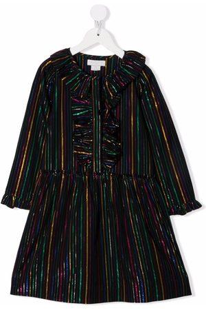 Stella McCartney Kids Ruffle-collar cotton dress