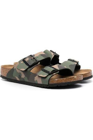 Birkenstock TEEN Arizona camouflage sandals