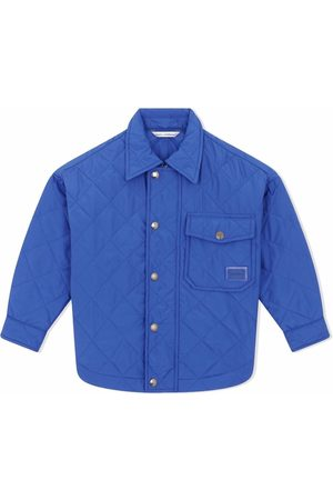 Dolce & Gabbana Quilted chest-pocket jacket
