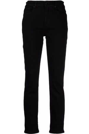 7 for all Mankind Cropped skinny jeans