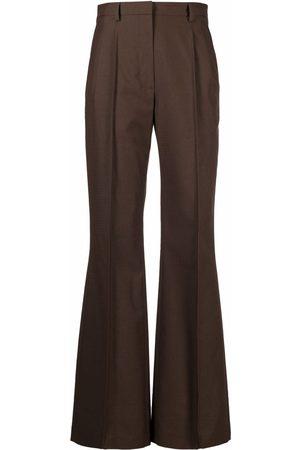 Kenzo High-waisted flared trousers