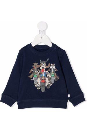 Stella McCartney Cartoon-print cotton sweatshirt