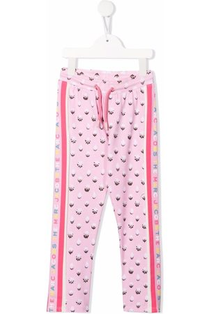 The Marc Jacobs Abstract-print track trousers