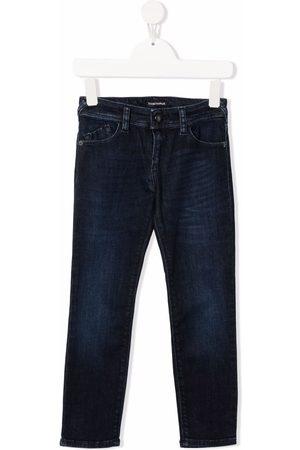 Emporio Armani Kids Slim-fit denim jeans