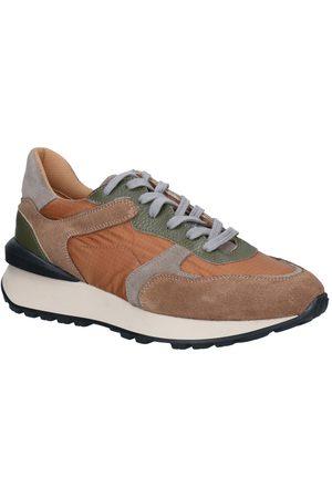 KMB Dames Lage sneakers - Cognac Sneakers