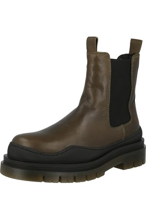 Apple of Eden Chelsea boots 'Cream 49
