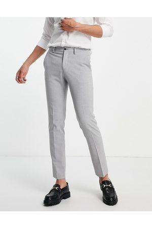 JACK & JONES Heren Pakken - Premium skinny fit suit trousers in grey