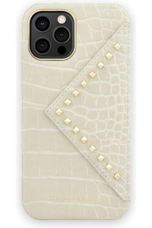 IDEAL OF SWEDEN Telefoon hoesjes - Statement Case iPhone 12 Pro Beatstuds Cream Croco