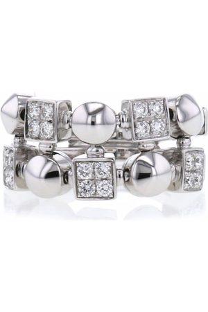 Bvlgari Pre-Owned Dames Ringen - 2000 18kt white gold Lucéa diamond ring