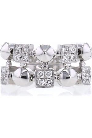 Bvlgari Pre-Owned 2000 18kt white gold Lucéa diamond ring