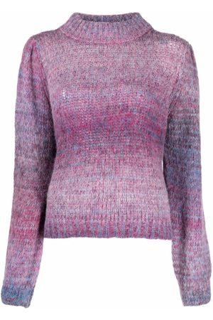 LIU JO Dames Gebreide truien - Gradient-effect knitted jumper