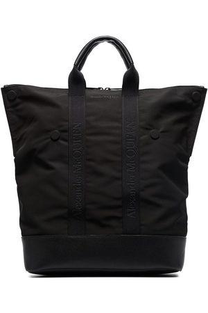 Alexander McQueen Heren Rugzakken - De Manta logo-tape backpack
