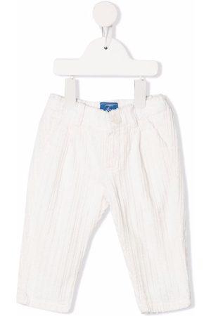 Fay Kids Corduroy slim-cut trousers