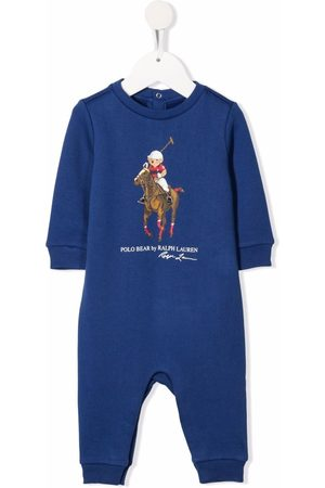 Ralph Lauren Kids Polo teddy-print body