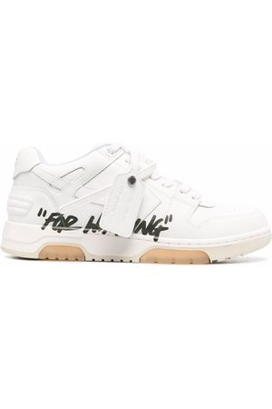 """Off-White OUT OF OFFICE """"SPECIALS"""" CALF BLAC"""