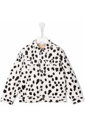 Stella McCartney Kids Dalmatian print denim jacket