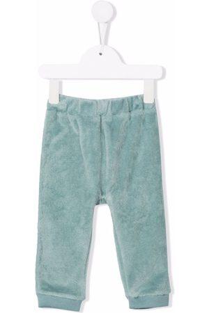 La Stupenderia Elasticated textured trousers